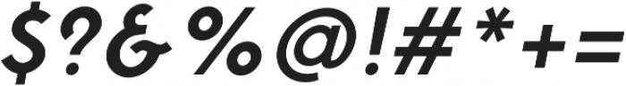 Fonseca Medium Oblique otf (500) Font OTHER CHARS