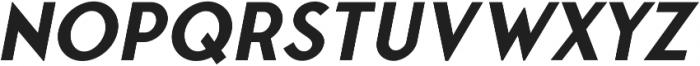 Fonseca Medium Oblique otf (500) Font LOWERCASE