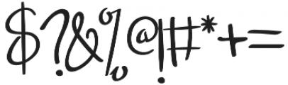 Font9 Regular otf (400) Font OTHER CHARS