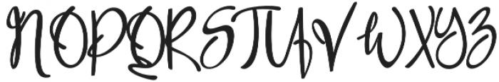 Font9 Regular otf (400) Font UPPERCASE
