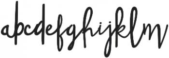 Font9 Regular otf (400) Font LOWERCASE