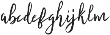 Fontastic Audrey Upright otf (400) Font LOWERCASE