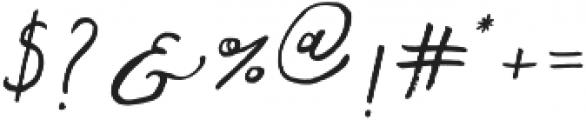 Fontastic Audrey otf (400) Font OTHER CHARS