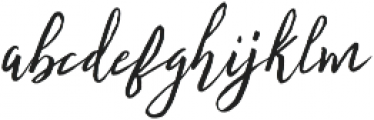 Fontastic Audrey otf (400) Font LOWERCASE