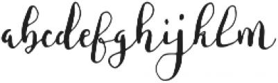 Fontastic Bianca Script otf (400) Font LOWERCASE