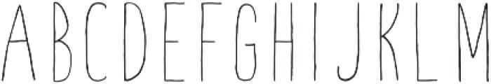 Fontastic Handy otf (400) Font UPPERCASE