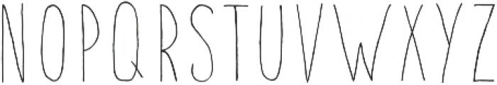 Fontastic Handy otf (400) Font LOWERCASE
