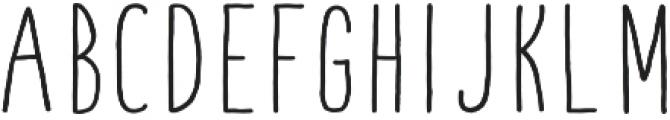 Fontastic Handy otf (700) Font UPPERCASE