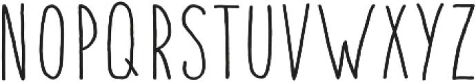 Fontastic Handy otf (700) Font LOWERCASE