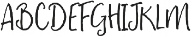 Fontbox Peach and Pistachio otf (400) Font UPPERCASE