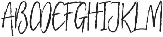 Footbridge otf (400) Font UPPERCASE