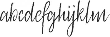 Footbridge otf (400) Font LOWERCASE
