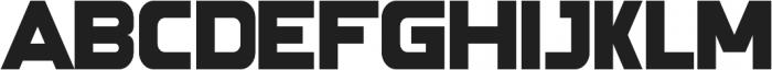 Force Galaxy ttf (400) Font UPPERCASE