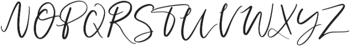Forever And Ever Regular otf (400) Font UPPERCASE