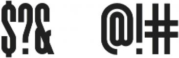 Forever Freedom Regular Font otf (400) Font OTHER CHARS