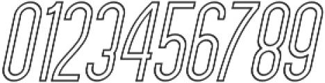 Forever Together Sans Outline otf (400) Font OTHER CHARS