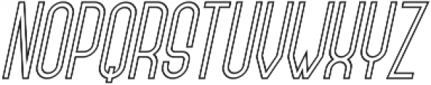 Forever Together Sans Outline otf (400) Font UPPERCASE