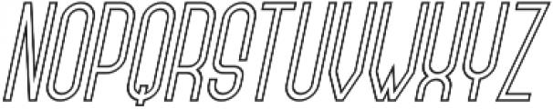 Forever Together Sans Outline otf (400) Font LOWERCASE