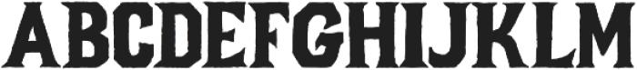 Forge otf (400) Font UPPERCASE