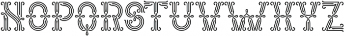 Forged Fence otf (400) Font UPPERCASE