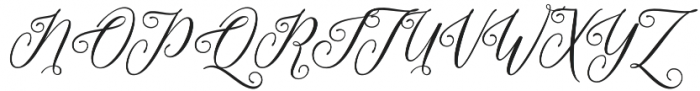 Formalia Regular otf (400) Font UPPERCASE