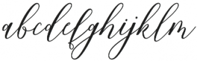 Formalia Regular otf (400) Font LOWERCASE