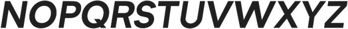 Formatif Std Bold Italic otf (700) Font UPPERCASE