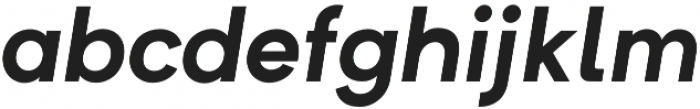 Formatif Std Bold Italic otf (700) Font LOWERCASE