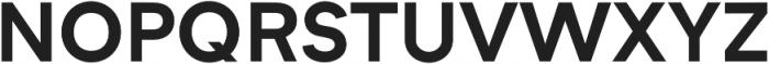 Formatif Std Bold otf (700) Font UPPERCASE