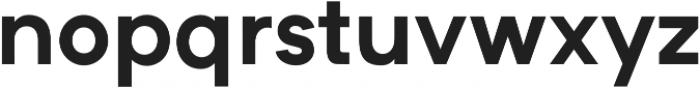 Formatif Std Bold otf (700) Font LOWERCASE