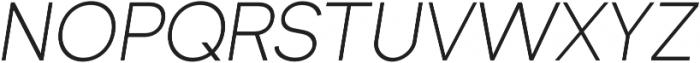 Formatif Std Light Italic otf (300) Font UPPERCASE
