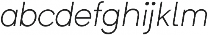 Formatif Std Light Italic otf (300) Font LOWERCASE