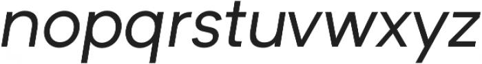 Formatif Std Regular Italic otf (400) Font LOWERCASE