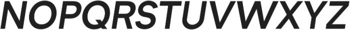 Formatif Std Semi Bold Italic otf (600) Font UPPERCASE