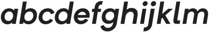 Formatif Std Semi Bold Italic otf (600) Font LOWERCASE
