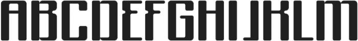 Formetic Bold otf (700) Font UPPERCASE