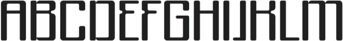 Formetic otf (400) Font UPPERCASE