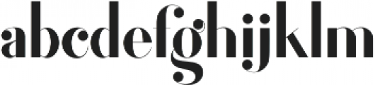 Forsythia otf (400) Font LOWERCASE