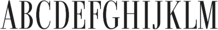 Fortezza otf (400) Font UPPERCASE
