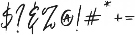 Fortuna otf (400) Font OTHER CHARS