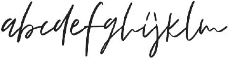 Fortuna otf (400) Font LOWERCASE