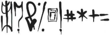 Fosca ttf (400) Font OTHER CHARS