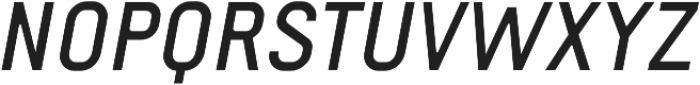 Fou Medium Italic otf (500) Font UPPERCASE
