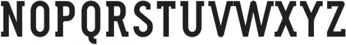 FouSerifCN Bold otf (700) Font UPPERCASE