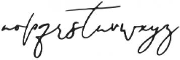 Foundation otf (400) Font LOWERCASE