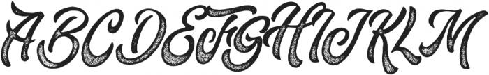 Fountain Rough otf (400) Font UPPERCASE