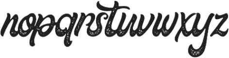 Fountain Rough otf (400) Font LOWERCASE