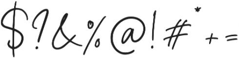 Foustayn otf (400) Font OTHER CHARS