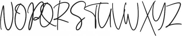 Foustayn otf (400) Font UPPERCASE