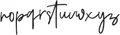 Foustayn otf (400) Font LOWERCASE